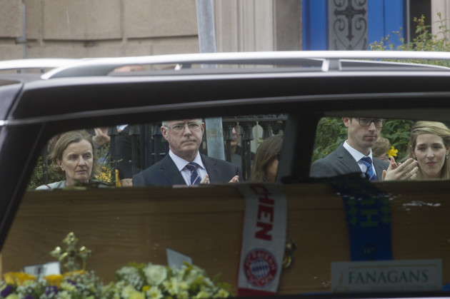 Funeral - Niccolai Schuster. Pictured