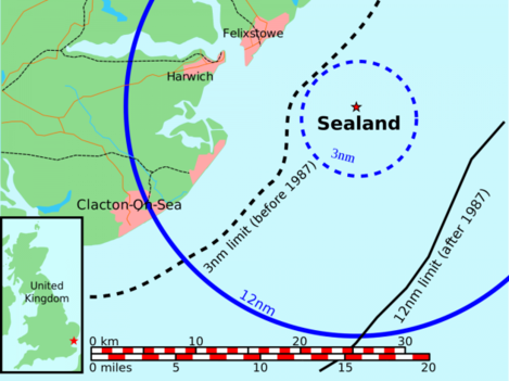 in-1987-the-united-kingdom-extended-its-territorial-waters-by-9-miles-and-the-area-now-includes-sealand-however-no-serious-challenge-to-the-micronations-de-facto-independence-has-been-posed-by-london
