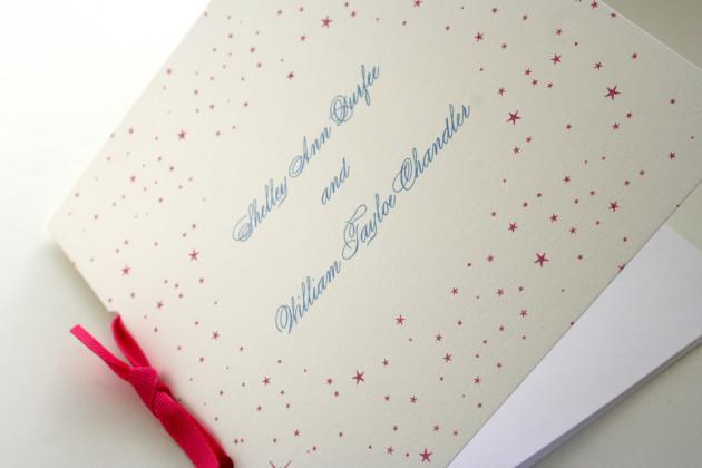 Booklet Wedding Program