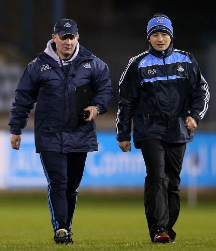 Jim Gavin and Jason Sherlock