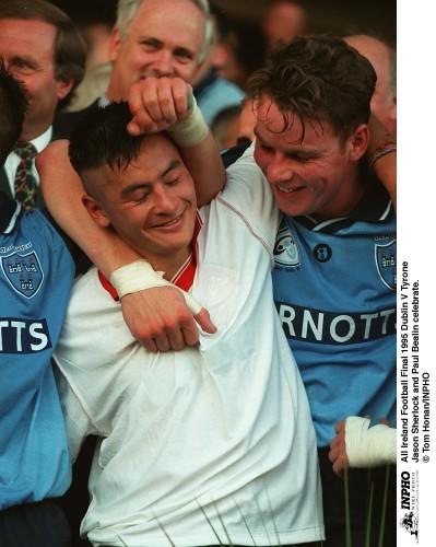 Jason Sherlock, Paul Bealin All Ireland Football Final 1995 Dublin V Tyrone