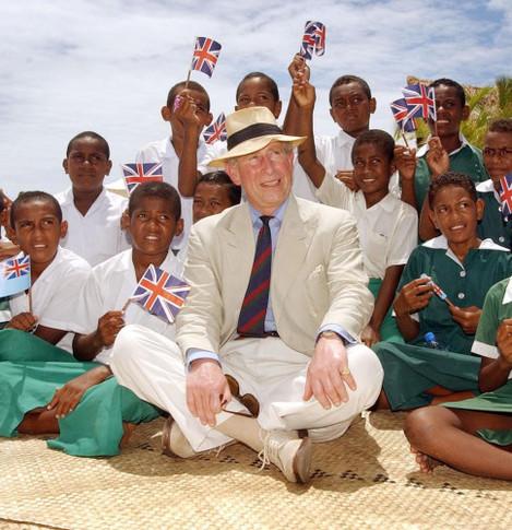 Prince of Wales - Fiji Visit - Castaway Island