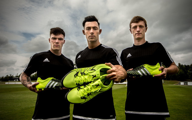 Brandon Miele, Richie Towell and Chris Forrester