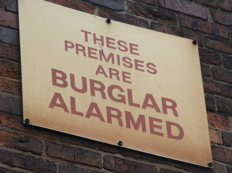 Gun Barrel Proof House, Banbury Street, Digbeth - These Premises are Burglar Alarmed