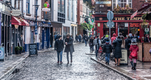 Streets Of Dublin - On A Really Wet Day