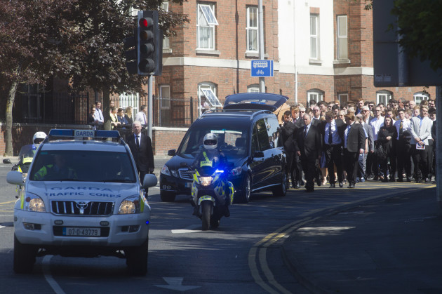The Funeral Mass for Eoghan Culligan tak