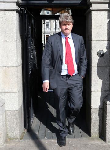 28/05/2015. Labour Michael McNamara TD. Pictured L