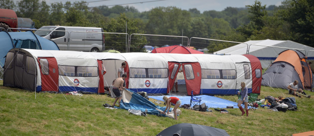 Glastonbury Festival 2015 - Preparations