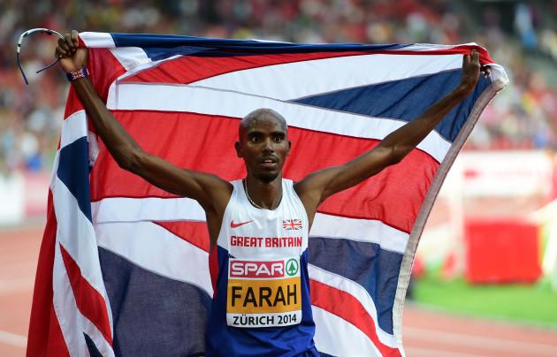 Athletics - Mo Farah Filer