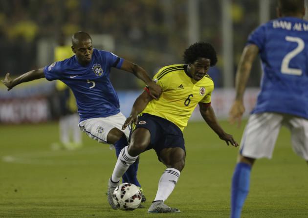 Chile Soccer Copa America Brazil Colombia