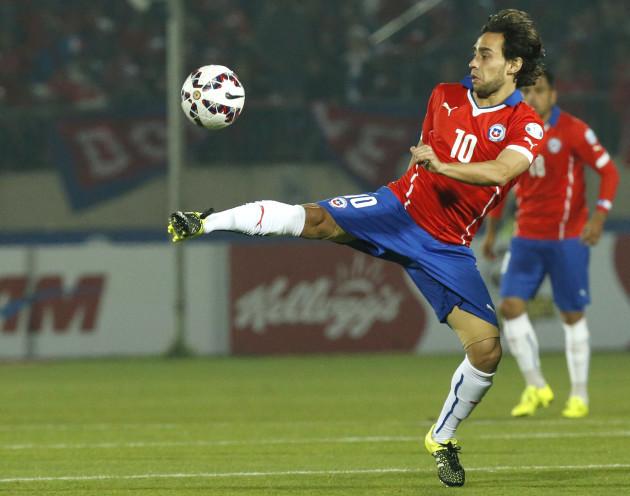 Chile Soccer Copa America Chile Bolivia