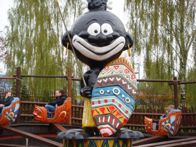 Not at all racist, at Djurs Sommerland