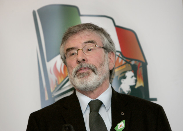 Sinn Fein launched their National Program