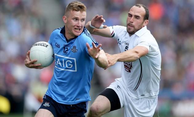 Ciaran Kilkenny with Kevin Murnaghan
