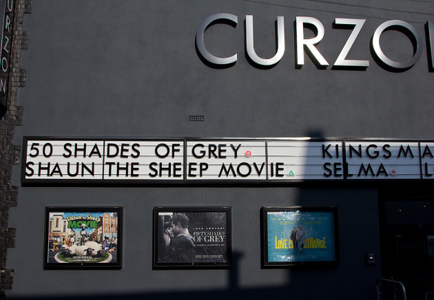 Fifty Shades of Grey, Love is Strange, and Shaun the Sheep Movie, Curzon Cinema, Canterbury