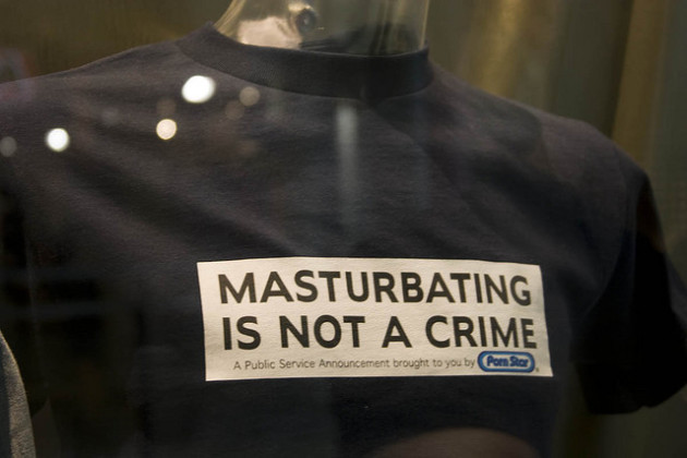 Masturbating is not a crime