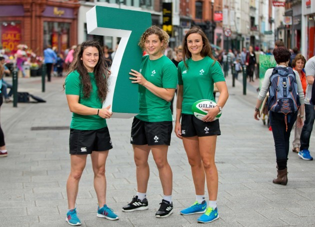 Lucy Mulhall, Jenny Murphy and Louise Galvin