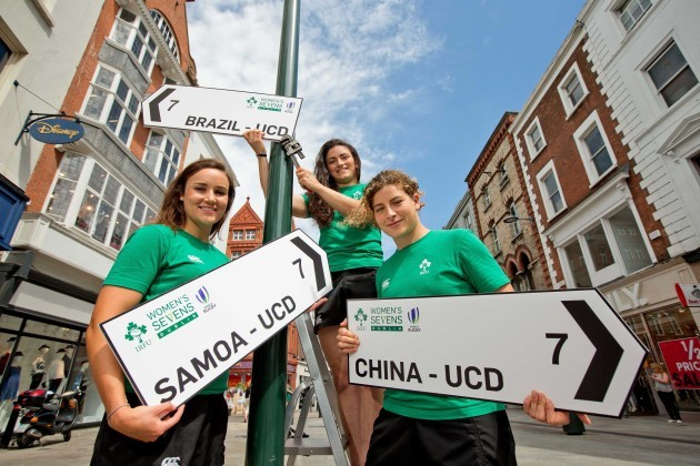 Louise Galvin, Lucy Mulhall and Jenny Murphy