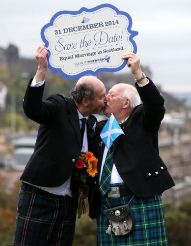 Scotland to host same-sex weddings