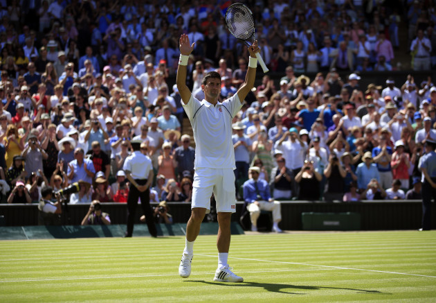 Tennis - 2015 Wimbledon Championships - Day One - The All England Lawn Tennis and Croquet Club