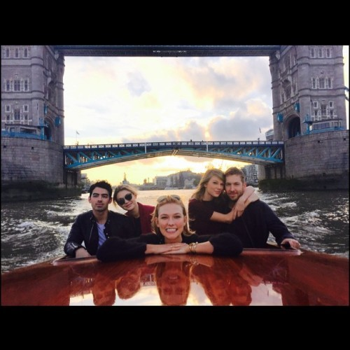 Little known fact: Karlie is secretly an unofficial historian/London tour guide. Kind of.