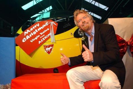 Branson's Tilting Train Arrives
