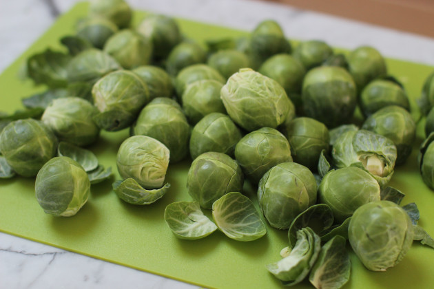 Food KitchenWise Brussels Sprouts