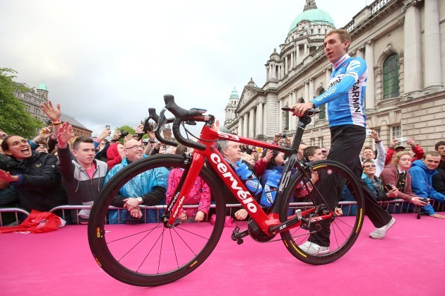 Cycling - 2014 Giro D'Italia - Team Presentations - Belfast City Hall