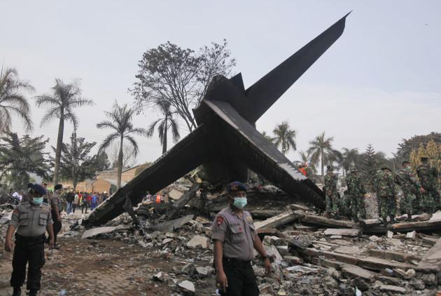 Indonesia Military Plane Crash