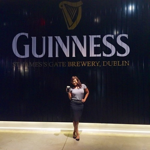 Fun at the Guinness Storehouse! #Dublin
