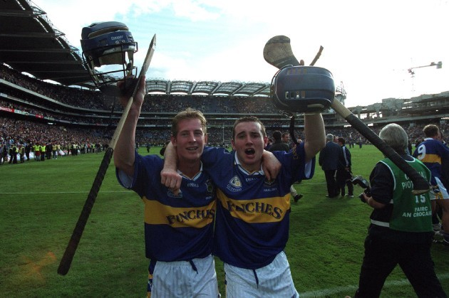Paddy O'Brien and Eoin Kelly