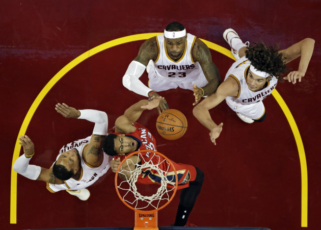 Pelicans Cavaliers Basketball