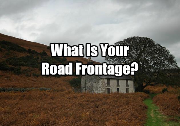 roadfrontage