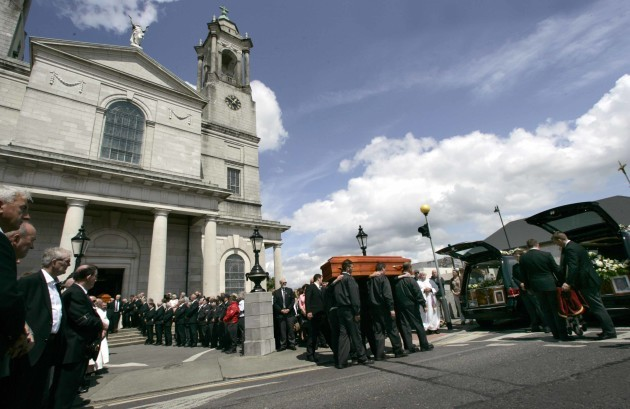 The funeral mass for Larry and Martina Ha