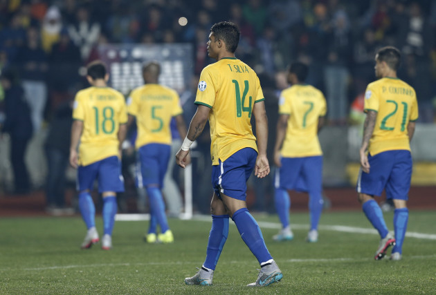 Chile Soccer Copa America Brazil Paraguay