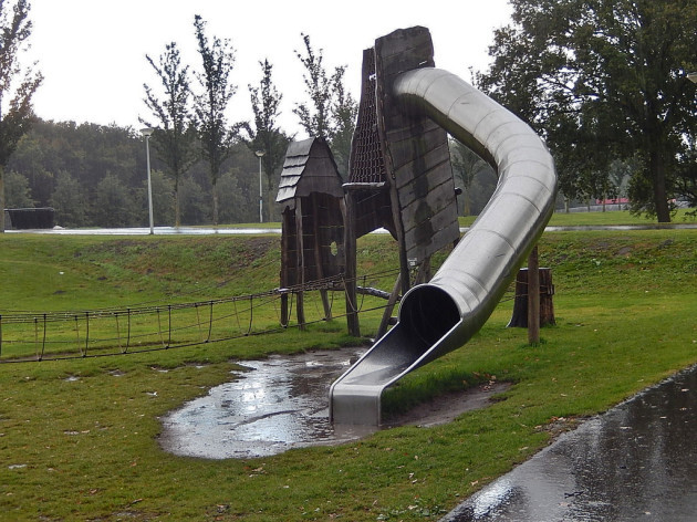 Wet Shiny Slide
