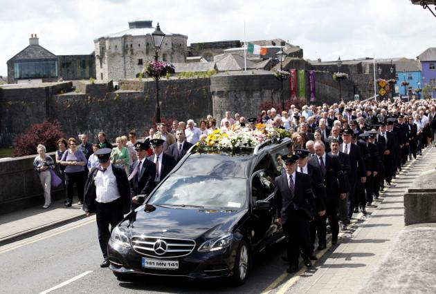 Ireland Tunisian Attack Funerals