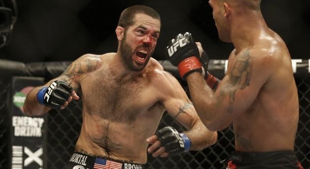 UFC Lawler Brown Mixed Martial Arts