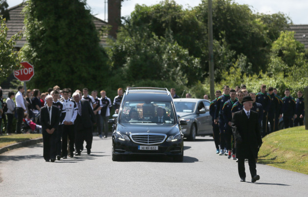 Lorna Carty funeral