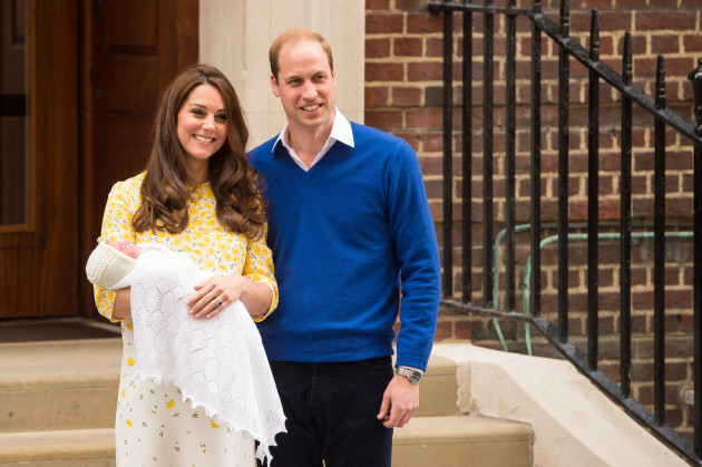 Princess Charlotte christening