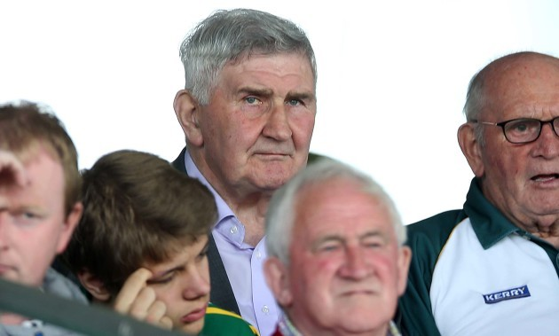 Mick O'Dwyer looks on