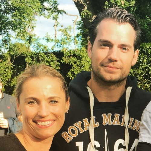 Anna Bootski KSFL on Instagram: Not every day you meet Superman! #superman #henrycavill #thegroove #totallysmitten @henrycavillfanpage