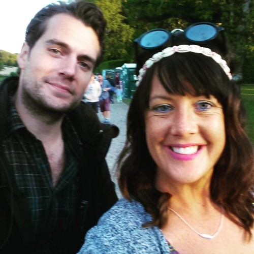 Donna R Hughes on Instagram: DONNA IS AT GROOVE FESTIVAL WITH SUPERMAN... HENRY FUCKING CAVILL