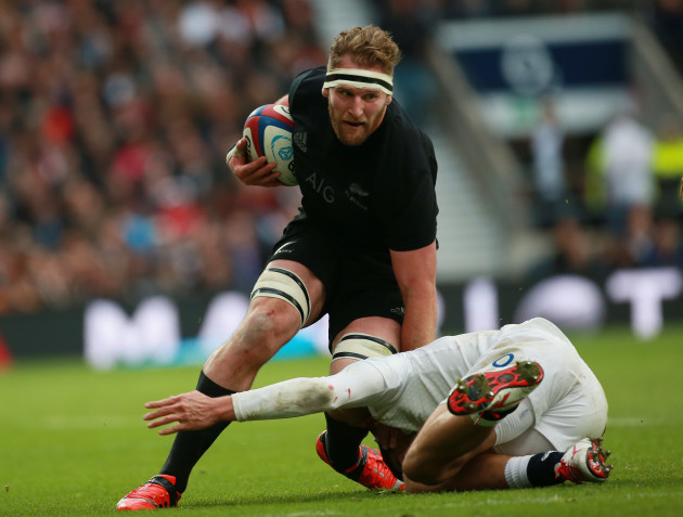 Rugby Union - QBE International 2014 - England v New Zealand - Twickenham