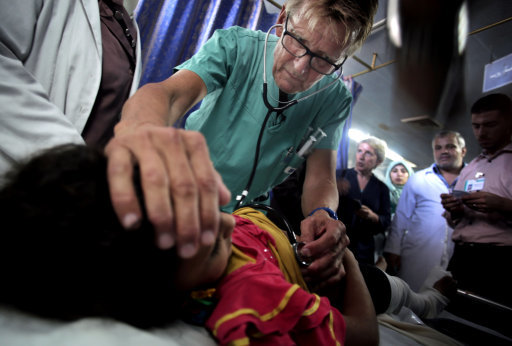 Mideast Gazas Emergency Room