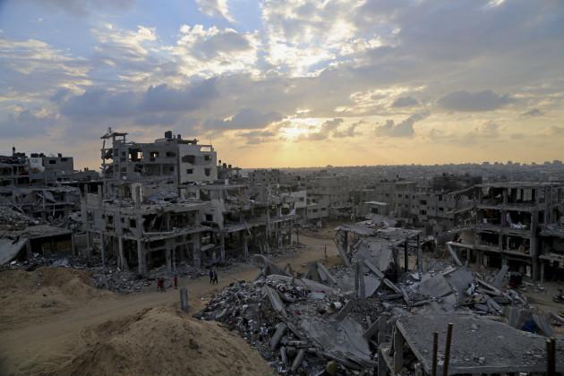 Mideast Palestinians Gaza Reconstruction