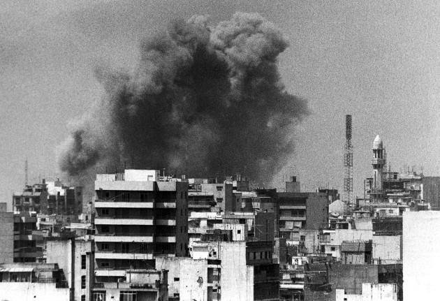 Lebanon Beirut Israeli Air Strike