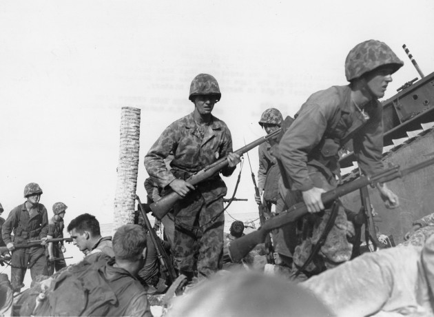 WWII U.S. INVASION TARAWA