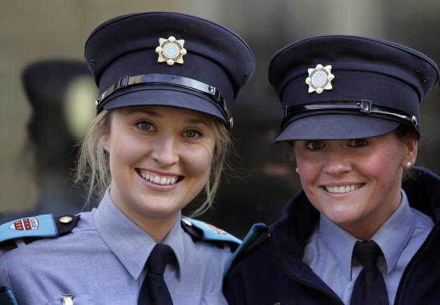 New Garda Recruits