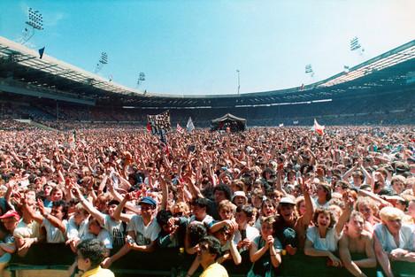 LIVE AID WEMBLEY 1985